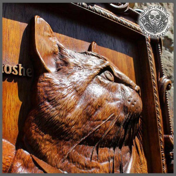Custom cat portrait from photo