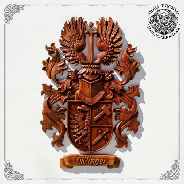 custom heraldry sculptor