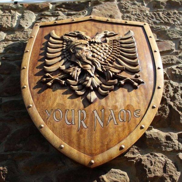 Custom Artwork Order Middle Ages Family Heraldic Art