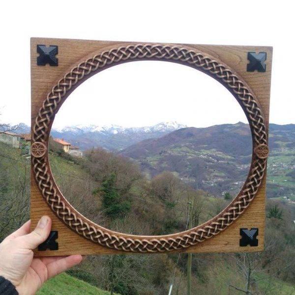Celtic frame art wall