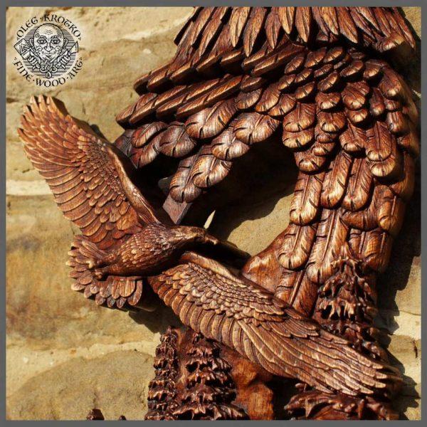 Carved Eagles for sale