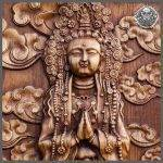 HAND MADE WOOD CARVED