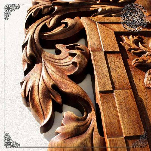 Hanging Wood Carving Picture Wall Decor