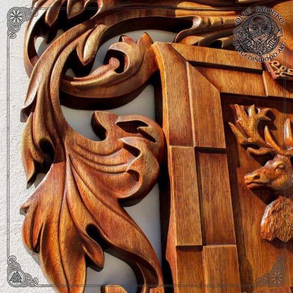 Heraldry Art Crest Decor