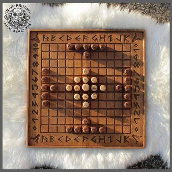 Hnefatafl viking chess for sale