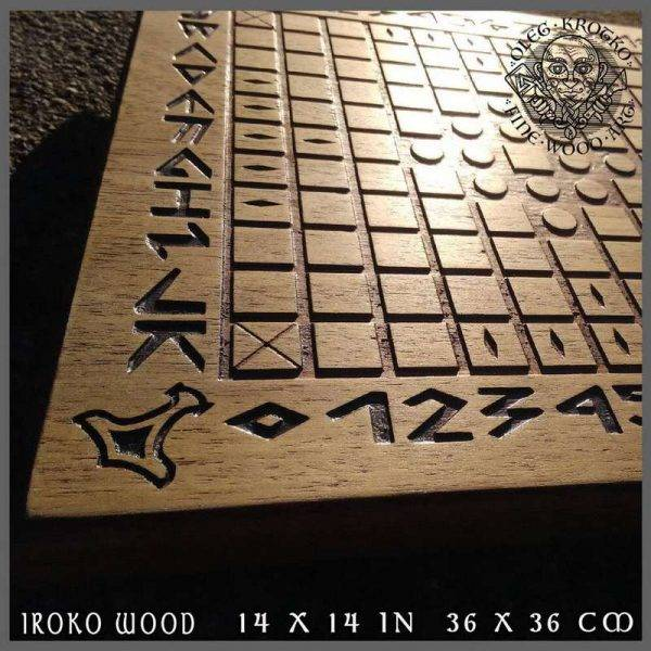 norse wood carving
