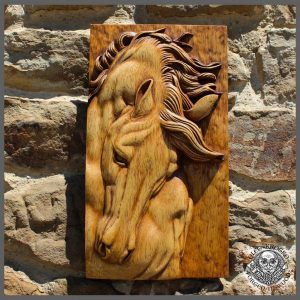 horse carving for sale