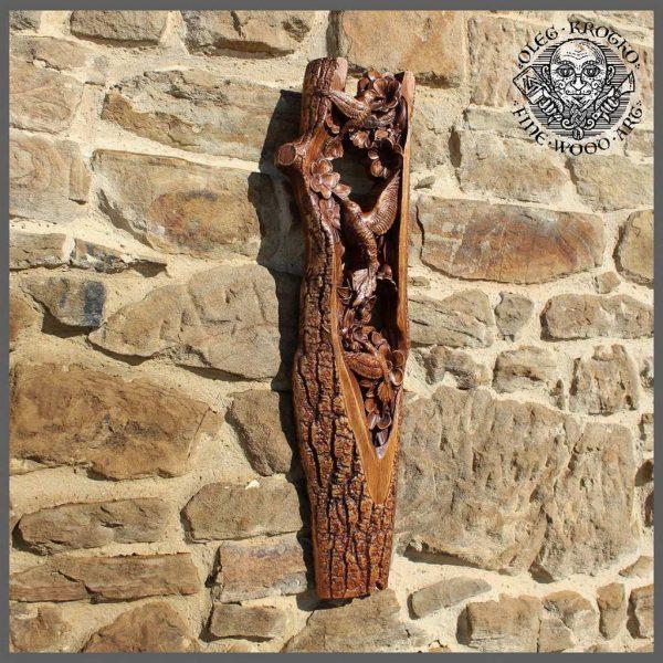 Animal wildlife wood art