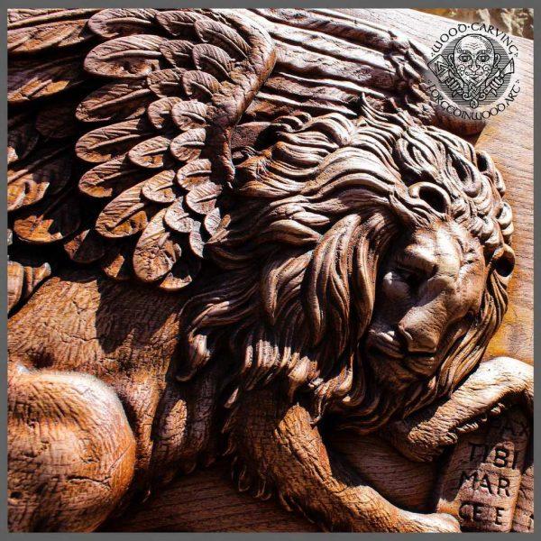 Lion Sculpture wall art