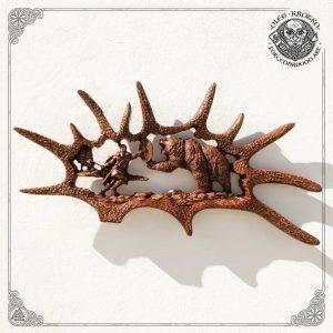 moose antler art for sale
