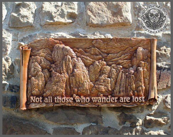 wood sculpture wall art