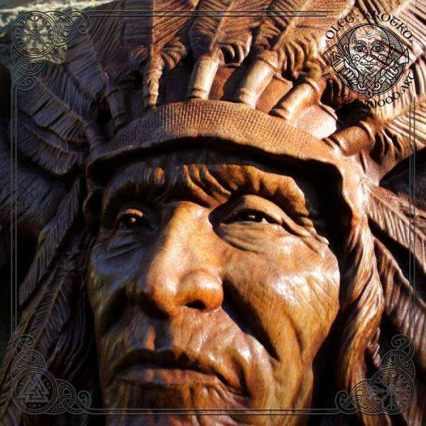 sculpture American Indian