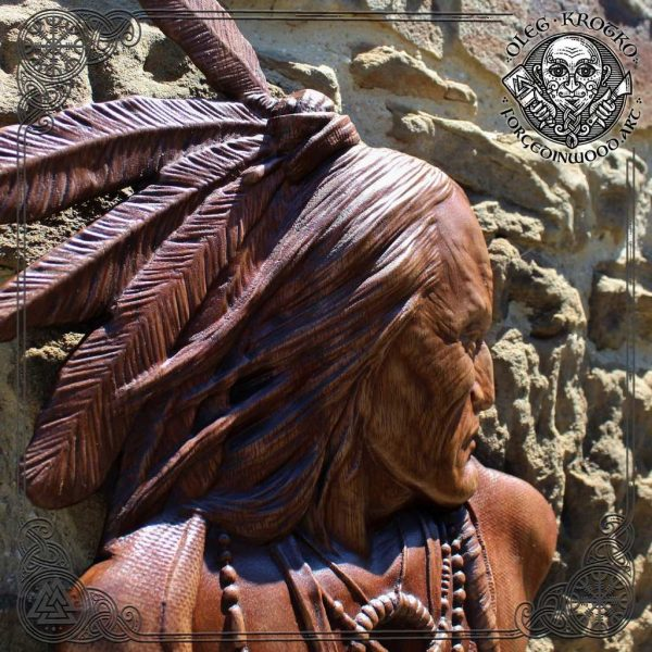 American indian carvings
