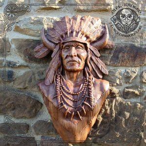 native indian american warrior