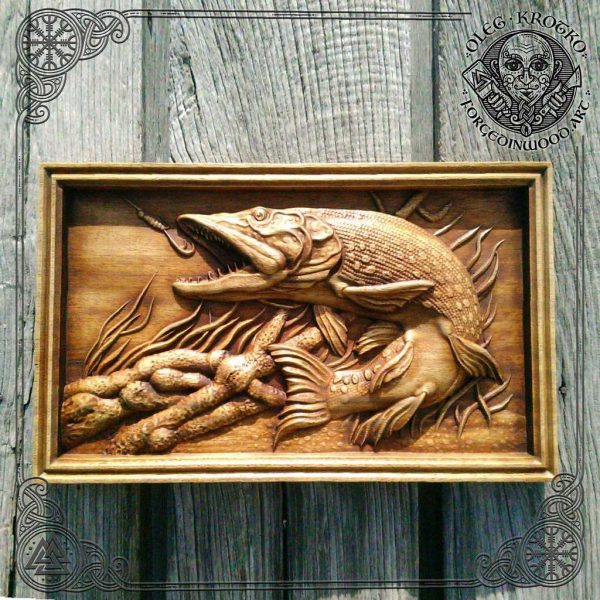 nautical carving decor for wall