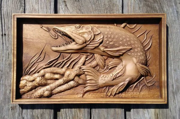 Wood Carving art for sale