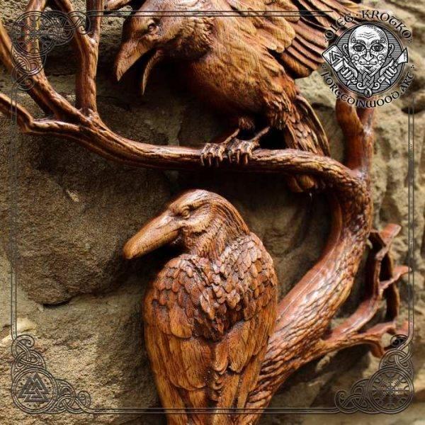 Norse Mythology HUGIN and MUNIN