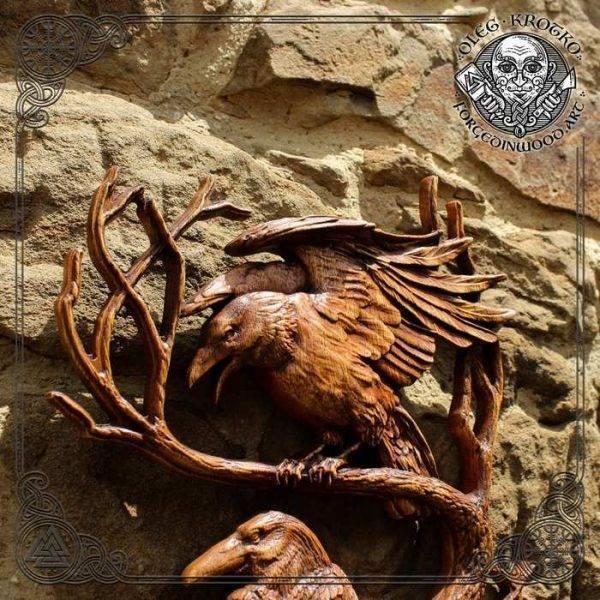 Norse Mythology carvings