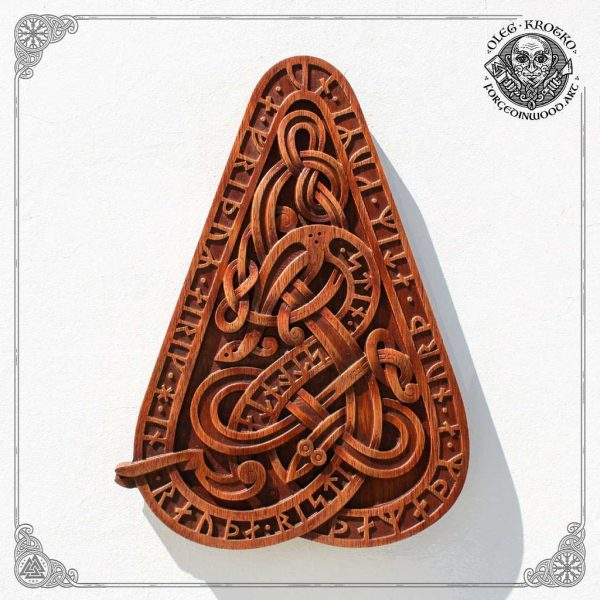 norse runes carvings
