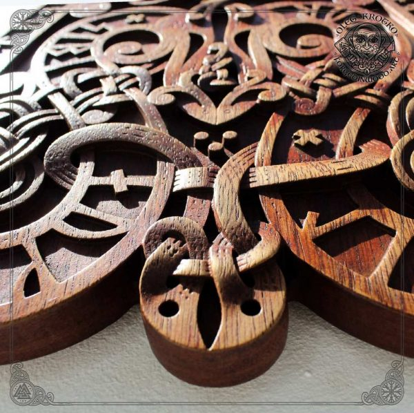 Ancient Norse carvings