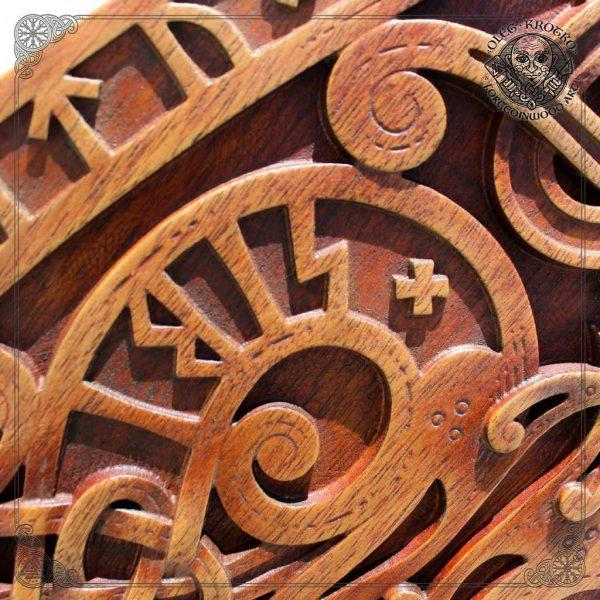 scandinavian wood carving
