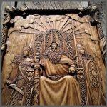 Valhalla Vikings carvings