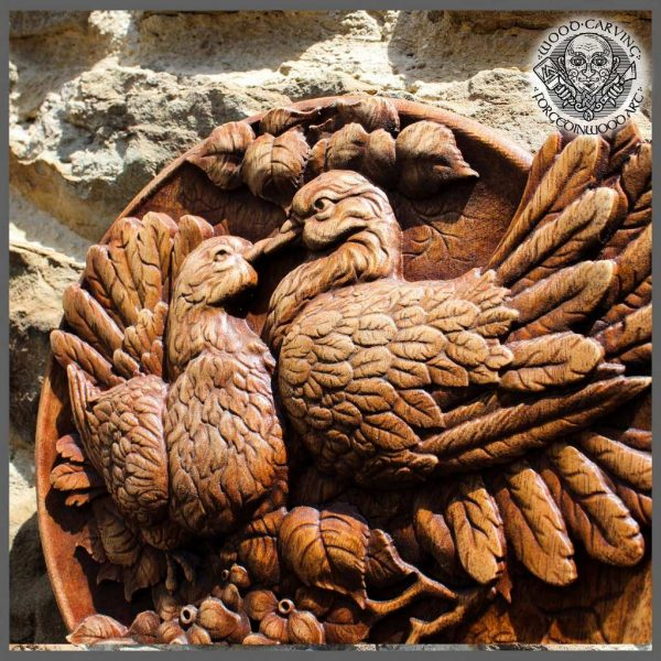 Pigeons Bird hand carved for sale