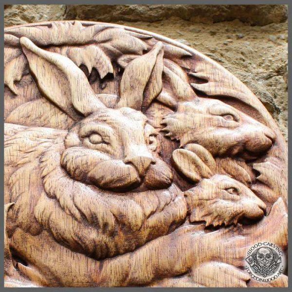 Rabbit Wild Life Wall Art