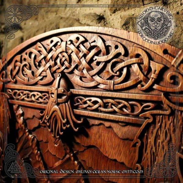 Celtic knotwork frame