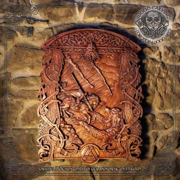 ragnarok battle carvings