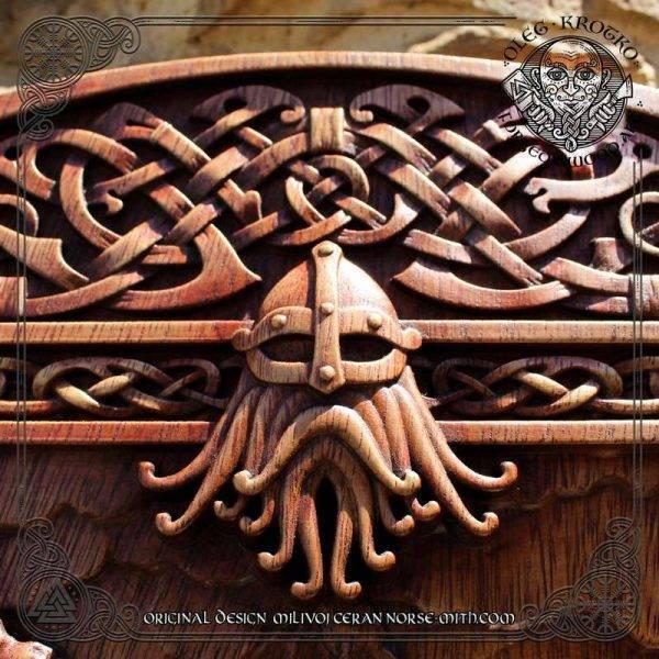 wood Norse Mythology