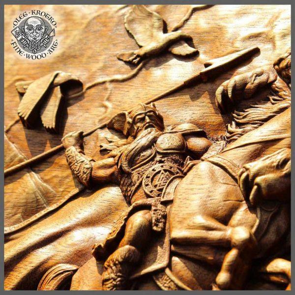 Odin Fenrir Ragnarok Viking Mythology