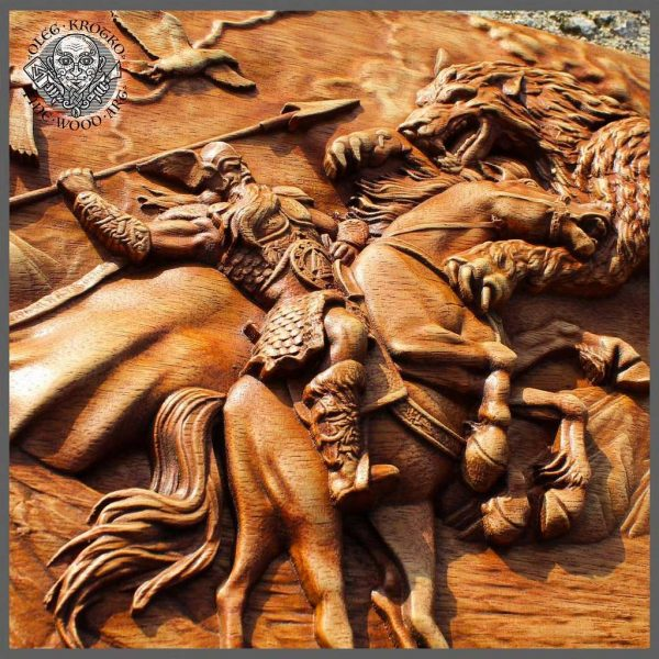 Odin and Hugin Munin