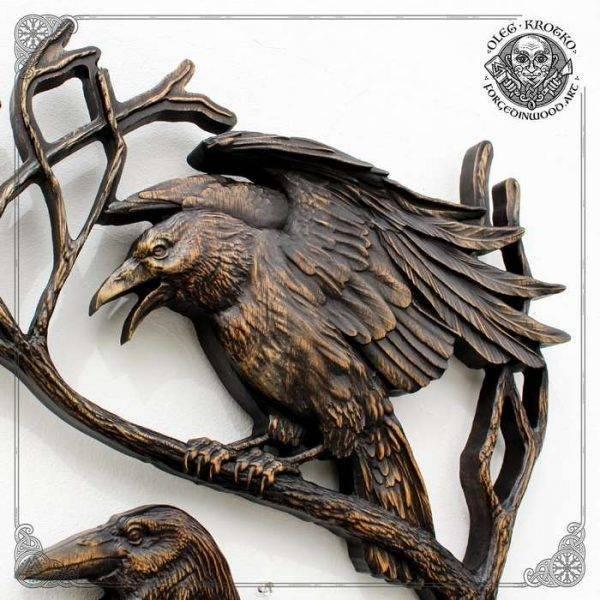 odin's ravens huginn and muninn