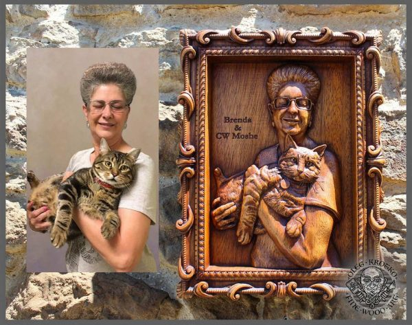 Custom carving from photo