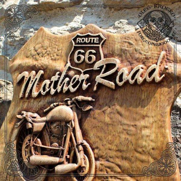 Wall Hanging Patriot Harley Davidson
