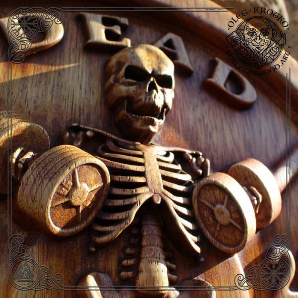 Skeleton wall art