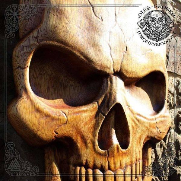 Gitf for Heathen wood carving