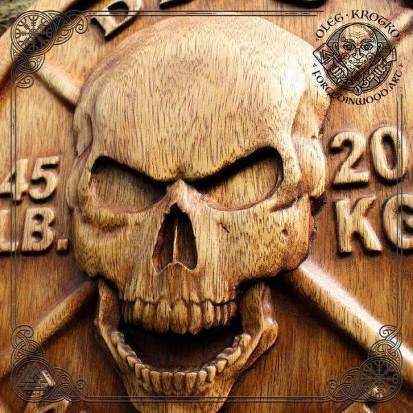Skull Wall Woodwork