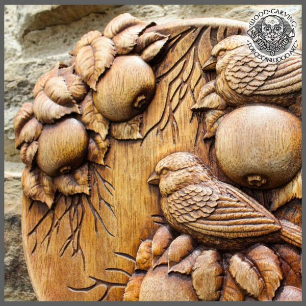 Birds wood carvings for sale