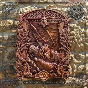 thor ragnarok carving