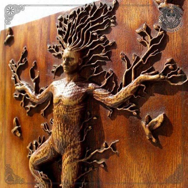 Forest Nature Spirit Plaque