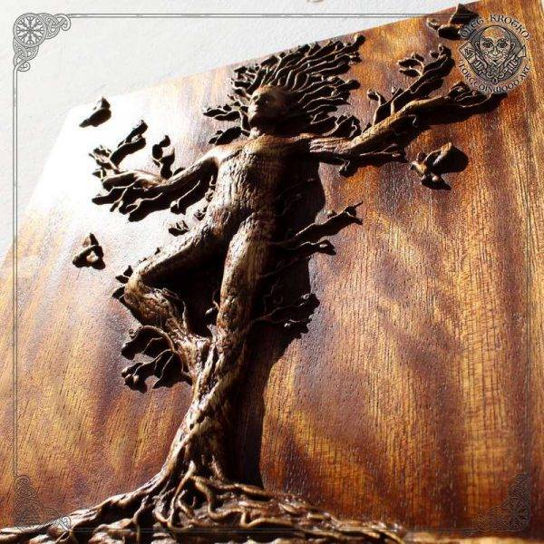 Tree man Carving Picture