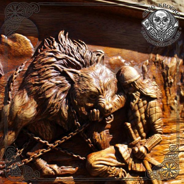 tyr viking carvings