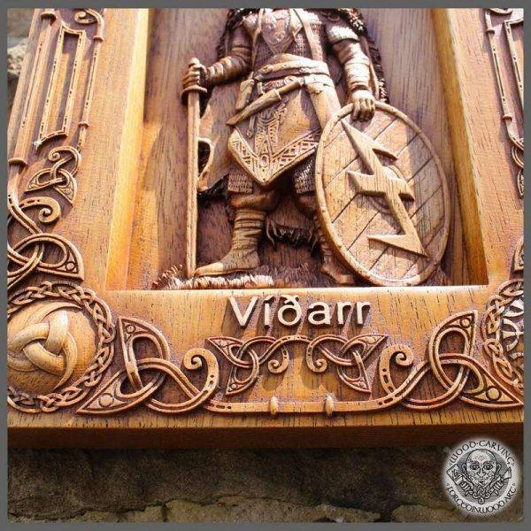 vikings traditions wood carving