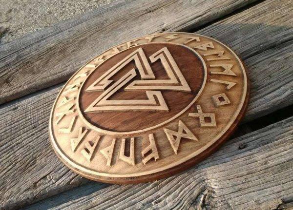 Walknut celtic carving for sale