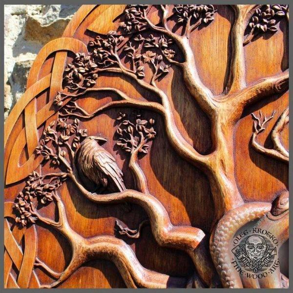 Norse mythology the world tree