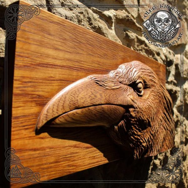 art raven animal
