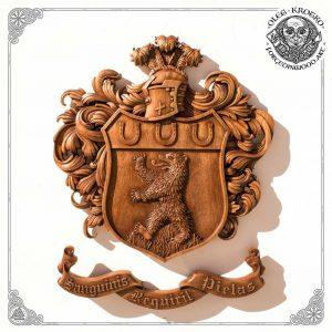 best woodcarving heraldic symbols