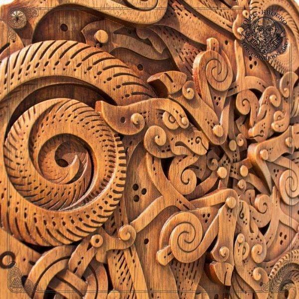 Celtic Wooden Symbol